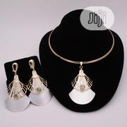 Set of Cord Necklace, Pendant and Earrings | Jewelry for sale in Lagos State, Ikotun/Igando
