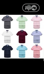 Tommy Hilfiger Short Sleeve Shirt Original | Clothing for sale in Lagos State, Surulere