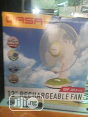 Rechargeable Table Fans Qasa 12"