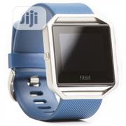 Fitbit Blaze Smart Fitness Watch (Blue/Small) | Smart Watches & Trackers for sale in Lagos State, Ikeja