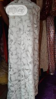 White Rhinestoned Sample Lace | Clothing for sale in Lagos State, Ikoyi