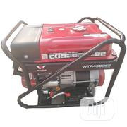 Walton Petrol Generator 3,5kva Key Starter And Tyre RED | Electrical Equipment for sale in Enugu State, Awgu