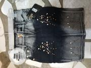 Jeans Skirts For Your Baby Girl | Children's Clothing for sale in Anambra State, Onitsha