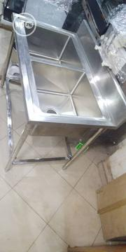 Double Bowl Kitchen Sink | Restaurant & Catering Equipment for sale in Abuja (FCT) State, Nyanya
