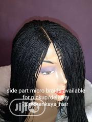 Ready to Ship Micro Braids Wig | Hair Beauty for sale in Ogun State, Ado-Odo/Ota