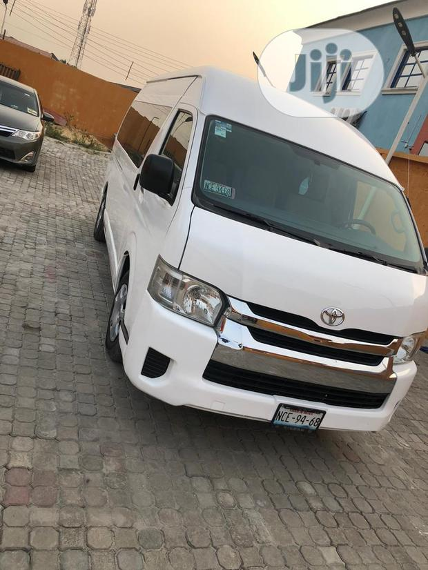 Archive: Tokunbo 2014' Toyota Hiace.. White Colour.