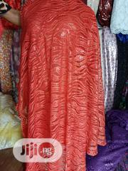 Red Sequined Sample Lace | Clothing for sale in Lagos State, Ikeja