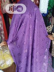 Purple Sample Lace With Sequence | Clothing for sale in Lagos State, Ikeja
