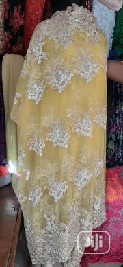 Yellow Indian Sample Lace | Clothing for sale in Lagos State, Ikeja
