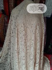 Beige Sample Lace With Sequence | Clothing for sale in Lagos State, Ikeja