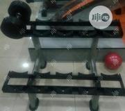 Commercial Dumbbells Rack With Delivery Included   Sports Equipment for sale in Lagos State, Lekki Phase 2