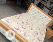 4.5x6ft Bedframe And Mouka Mattress | Furniture for sale in Lagos State, Ojo