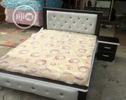 4ft by 6ft Bedframe With Mouka Standard Mattress | Furniture for sale in Lagos State, Ojo