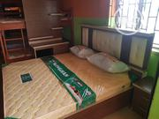 6x6 Bedframe With Imported Orthopedic Spring Mattress. | Furniture for sale in Lagos State, Ojo