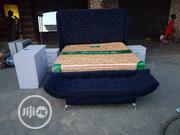 6x6 Upholstery Bedframe With Imported Mattress | Furniture for sale in Lagos State, Ojo