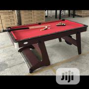 Foldable 6ft Snooker Board Table With Accessories | Sports Equipment for sale in Lagos State, Surulere