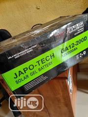 200ah Volts Japo Tech Gel Battery | Solar Energy for sale in Lagos State, Lekki Phase 1