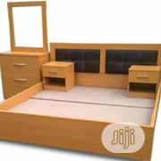 PAWA FU Executive 6'×6' Feet Bedframe+FREE OTTOMAN | Furniture for sale in Lagos State, Ikorodu