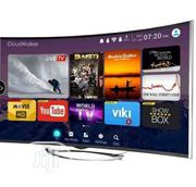 Polystar 43inches Curved 4k Smart Tv | TV & DVD Equipment for sale in Lagos State, Ikeja