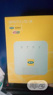 Zte Mf927u 4G LTE MTN Universal Wi-fi Router Hotspot | Networking Products for sale in Lagos State, Ikeja