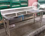 Double Industrial Sink | Restaurant & Catering Equipment for sale in Lagos State, Ajah