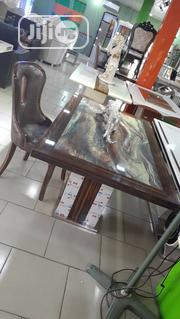 Marble Dinning Table With 6 Chairs | Furniture for sale in Lagos State, Lekki Phase 1