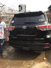 Toyota Highlander 2016 XLE V6 4x2 (3.5L 6cyl 6A) Black | Cars for sale in Lagos State, Ikeja