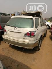 Lexus RX 2001 300 White   Cars for sale in Lagos State, Mushin