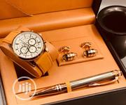 Montblanc Chronograph Rose Gold/Pen and Cufflinks | Watches for sale in Lagos State, Lagos Island