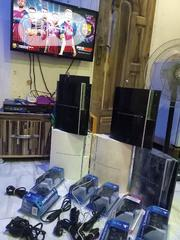 UK Used PS3 With Two Pads And Games Inside | Video Games for sale in Lagos State, Ikotun/Igando
