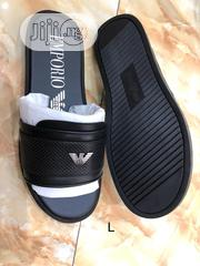 Emporio Armani Slippers(Free Wallet) | Shoes for sale in Lagos State, Lagos Island