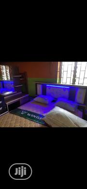6×6 Bed Frame With Imported Spring Mattress Nd Dressing Mirror | Home Accessories for sale in Lagos State, Lekki Phase 1