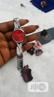 Beautiful Female Silver and Black Wristwatch | Watches for sale in Lagos State, Ajah