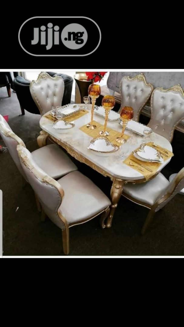 Royal Marble Dinning By 6