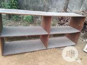Neatly Used Two Tier Wooden Storage Shelf At Oroigwe | Furniture for sale in Rivers State, Port-Harcourt