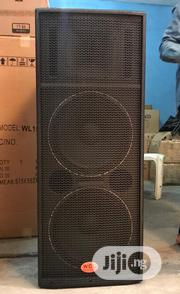 WCL Professional Acoustic Speaker Double Range   Audio & Music Equipment for sale in Lagos State, Ojo