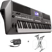Yamaha Keyboard - PSR S670 With Yamaha Adaptor | Musical Instruments & Gear for sale in Lagos State, Ojo