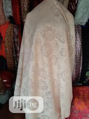 Peach Lacy Scuba Bale Fabric | Clothing for sale in Lagos State, Amuwo-Odofin