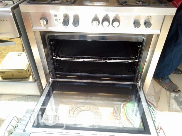 Archive: Industrial 6 Burners Royalty Gas Cooker Oven With Grill