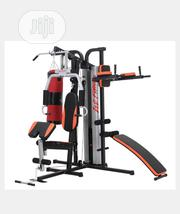 3 Station Multi Gym With Punching Bag | Sports Equipment for sale in Abuja (FCT) State, Central Business District