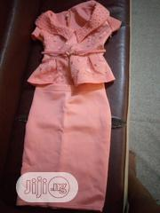 Peach Skirt And Blouse | Clothing for sale in Lagos State, Oshodi-Isolo