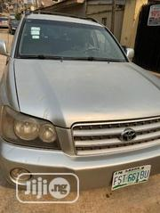 Toyota Highlander 2002 Silver | Cars for sale in Lagos State, Lagos Mainland
