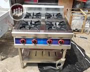 4 Burner Gas Cooker Stove | Restaurant & Catering Equipment for sale in Lagos State, Ojo