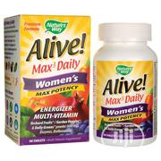 Alive! Max 3 Daily Women's Multi-Vitamin * 90 Tabs | Vitamins & Supplements for sale in Lagos State, Ipaja