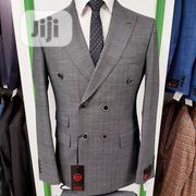 Quality Mario Casas Men's Double Breasted Suit | Clothing for sale in Lagos State, Lagos Island