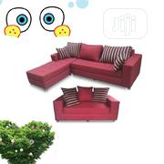 Latest L Shape Sofa Desingns With Double Seater | Furniture for sale in Lagos State, Ikoyi
