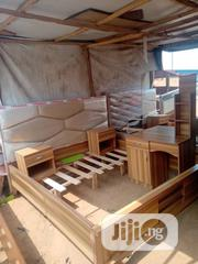 Complete Set Of Bedframe With 2 Bed Stool Nd Standing Dress Mirror | Home Accessories for sale in Lagos State, Ikoyi