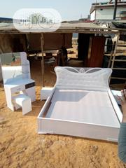 Smart Bedframe With Dressing Mirror Nd 2 Bed Stool | Home Accessories for sale in Lagos State, Ikoyi