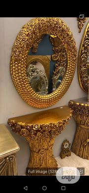 Wooden Console And Mirror | Home Accessories for sale in Lagos State, Amuwo-Odofin