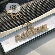 N2,500 Per Letter Full Iced Customised Name Pendant | Jewelry for sale in Lagos State, Lagos Island